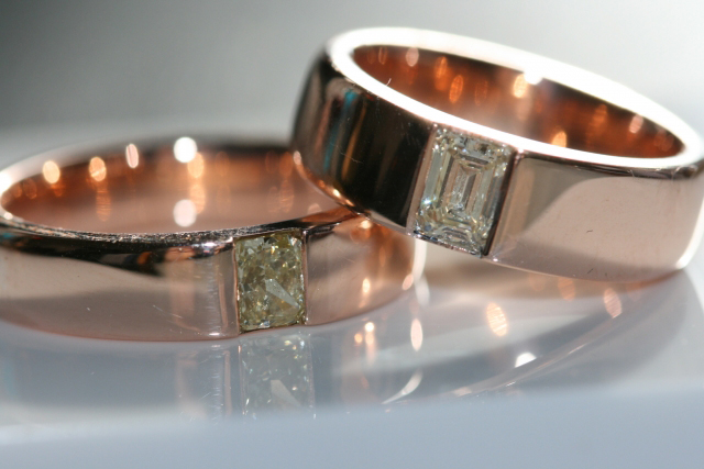 Men's Diamond Wedding Bands