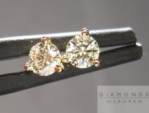 Diamonds by Lauren Diamond Stud earrings
