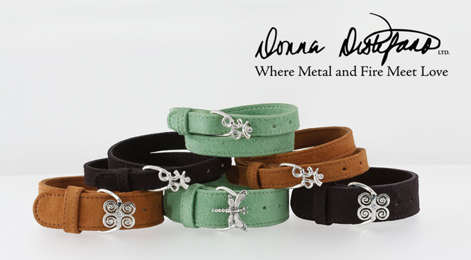 Donna Distefano's Illumination Collection bracelets