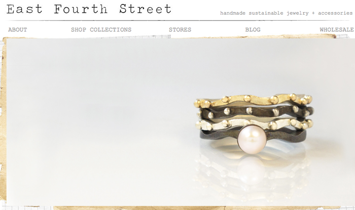 Sustainable Jewelry by East Fourth Street