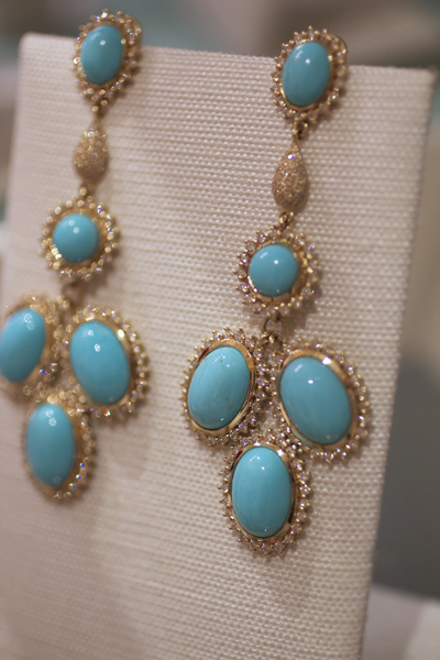 Go Long Statement Earrings At Jck And Couture 2012