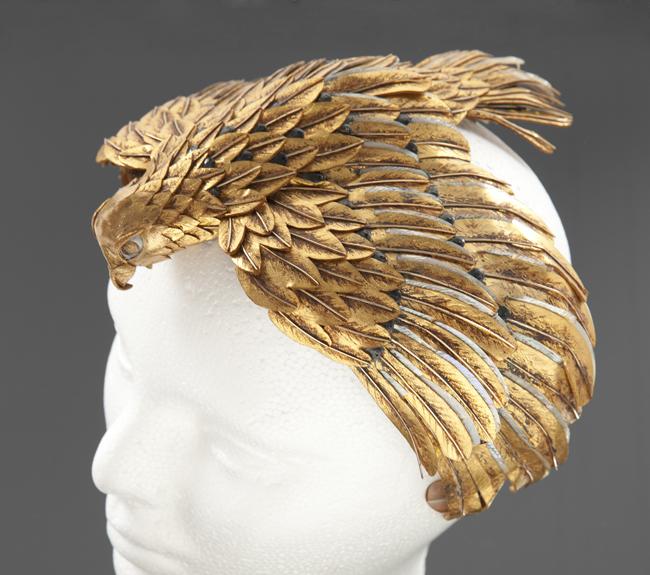 Falcon Headdress worn by Elizabeth Taylor in Cleopatra