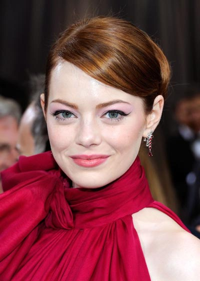 Emma Stone 2012 Academy Awards