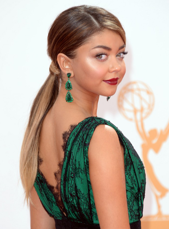 2013 Emmy Awards Jewelry Highlights Long Earrings