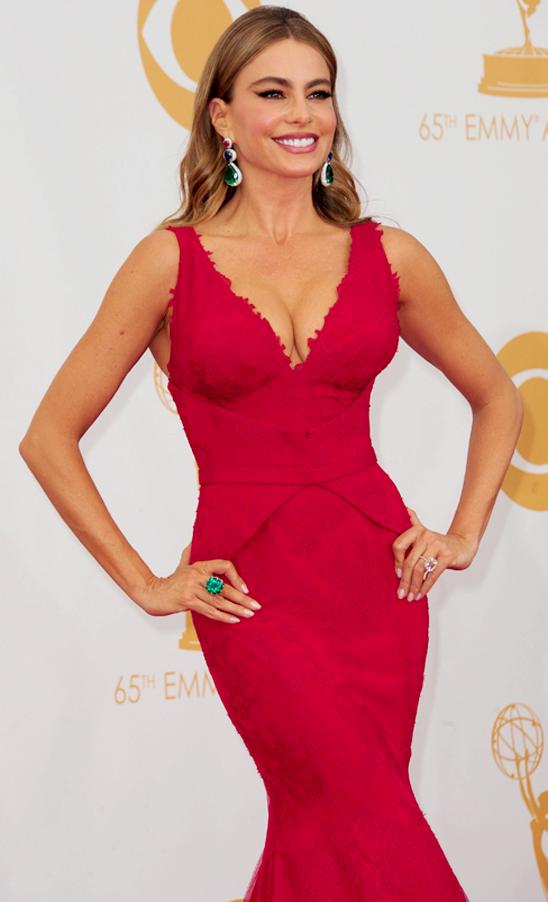 Emmy nominee Sofia Vergara in jewels by Lorraine Schwartz