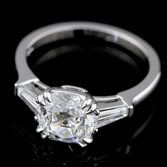 Bianca 3-stone diamond engagement  ring by Engagement Rings Direct