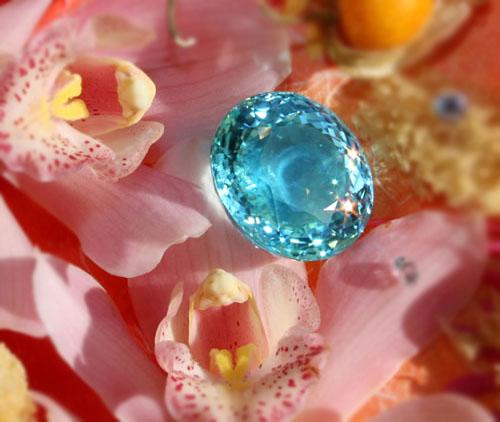 'Ethereal Carolina Divine Paraiba' tourmaline