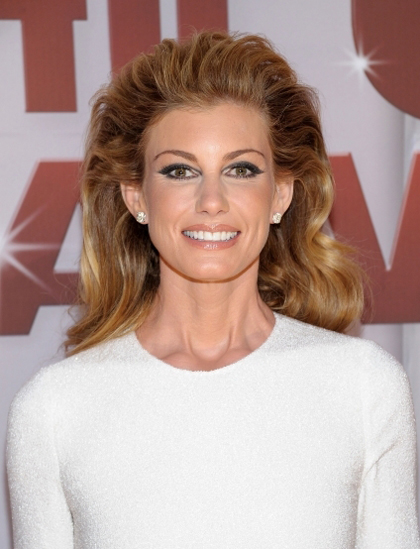 Faith Hill at the 2011 CMA Awards