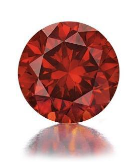 Rare Red Diamond 50 Carat Graff Diamond Ring To Highlight