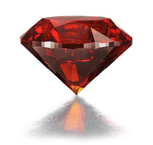 3.15-carat Fancy Reddish Orange Diamond Christie's 2012
