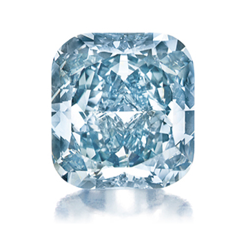 3.81-carat fancy-vivid blue diamond • Christie's