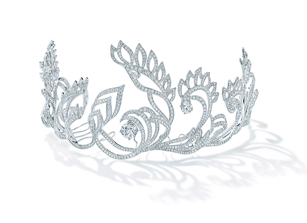 Forevermark Promise Collection: Flower Tiara by Chow Tai Fook