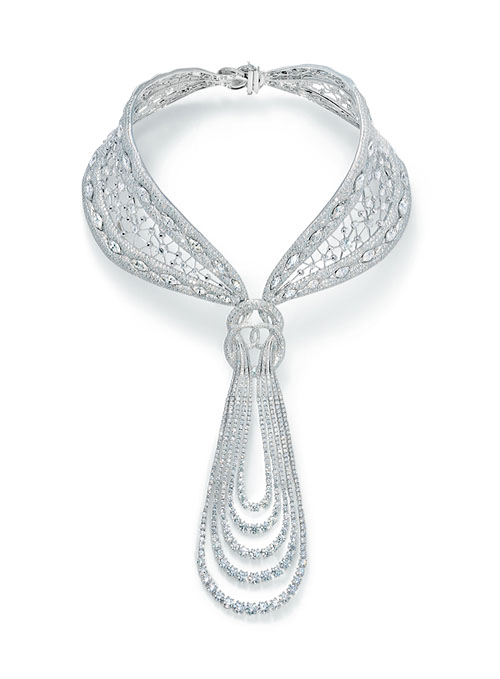 Forevermark Promise Collection: 85-carat Eternal necklace by Reena Ahluwalia