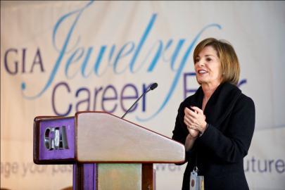 Kathryn Kimmel at the 2012 GIA Career Fair