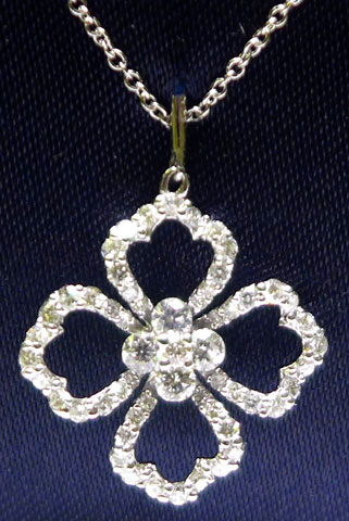 Door Prize PS GTG 2016:  3/4 Ct Flower Cluster Diamond Necklace From David Atlas & Co.