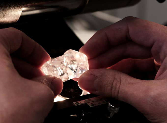 162.06-carat type II diamond found at Gem Diamonds Letšeng mine