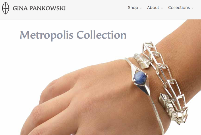 Sustainable Jewelry by Gina Pankowski