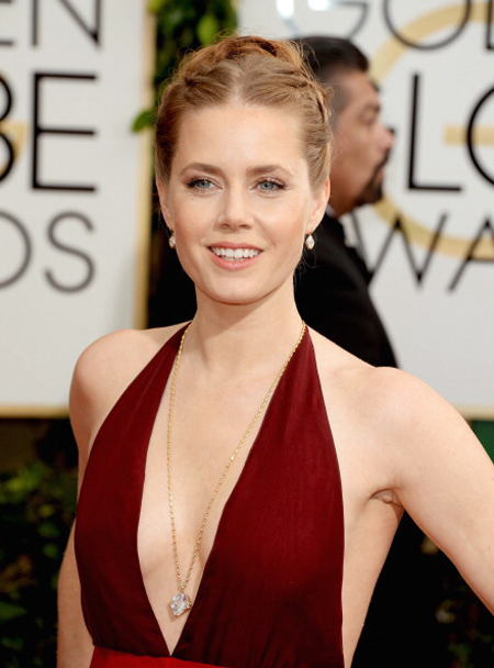 2014 Golden Globe winner Amy Adams • Jewelry by Lorraine Schwartz