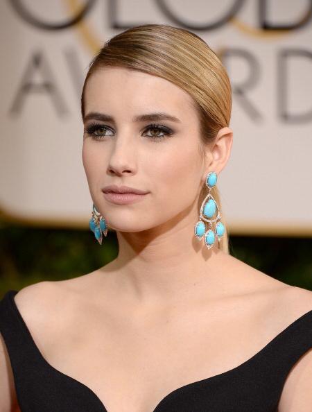 2014 Golden Globes - Emma Roberts • Neil Lane earrings