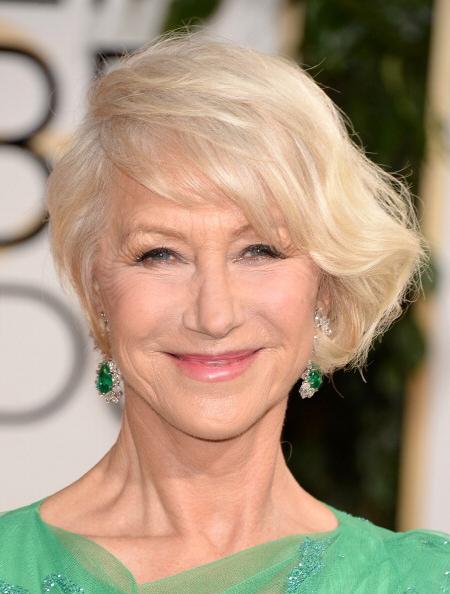 2014 Golden Globes - Helen Mirren • Bulgari Jewelry