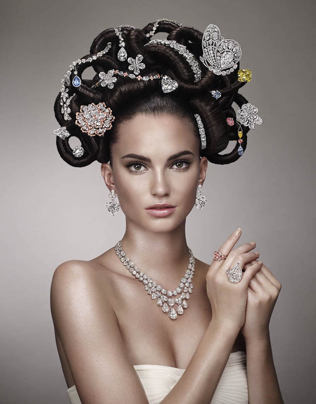 Graff's Half Billion Dollar 'Hair & Jewel' Campaign