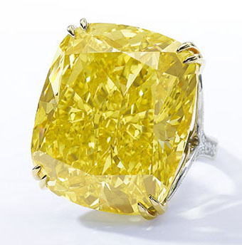 100-carat Graff Vivid Yellow Diamond
