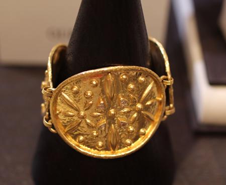 24k gold diamond bracelet Gurhan Couture 2011