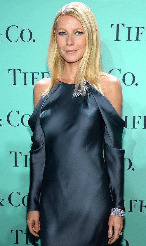 Gwyneth Paltrow Tiffany 2013 Blue Book Ball