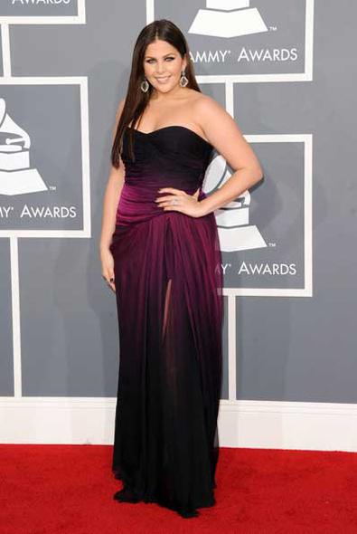 Hillary Scott 2012 Grammy Awards
