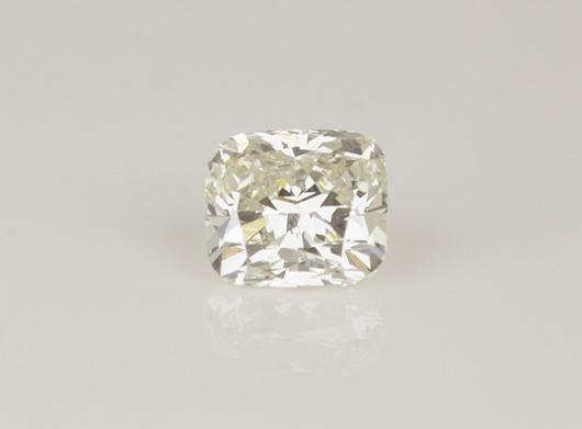 1.14-carat cushion-cut diamond valued at £12,000 from 77 Diamonds