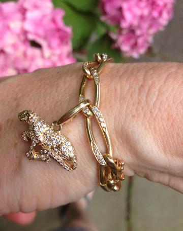 Cartier Panthère Charm Bracelet