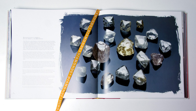 'Diamonds' book from Crafted By Infinity and High Performance Diamonds