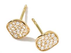 Ippolita Stardust Diamond Mini Stud Earrings