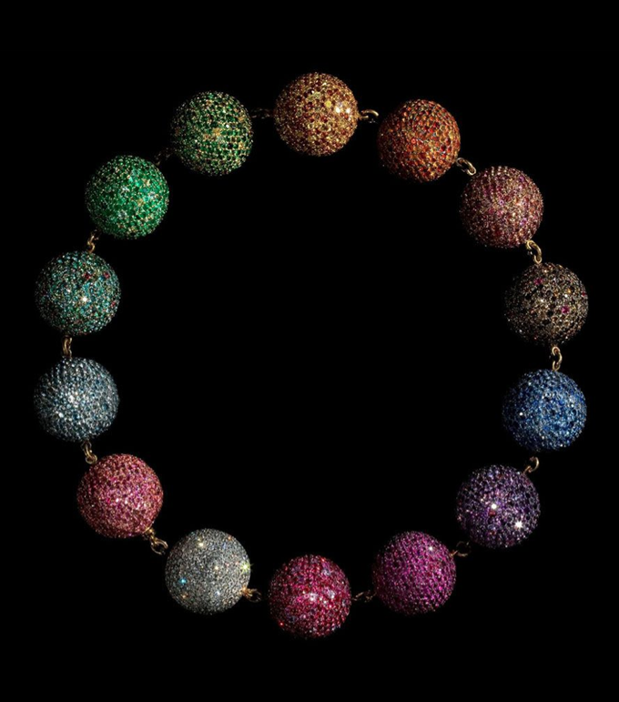 Jewels by JAR at the Metropolitan Museum of Art, JAR Colored Balls Necklace