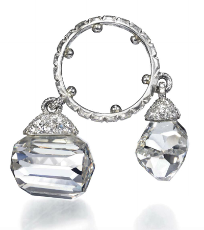 JAR diamond charm ring from Jewels for Hope: Lily Safra's jewelry auction