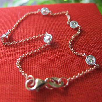 Diamond bracelet from Jewels by Erica Grace