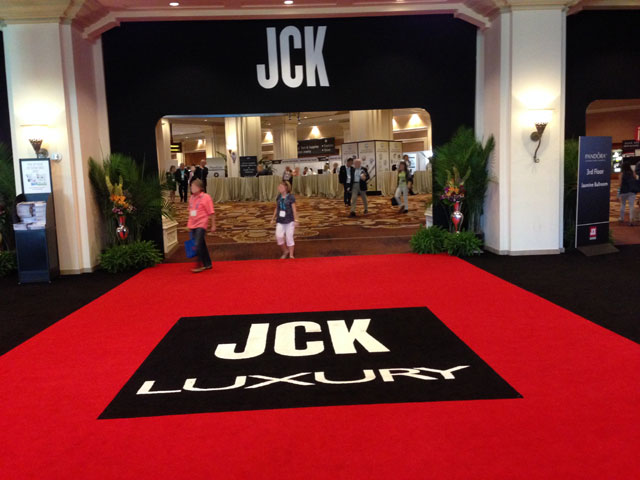 Entrance to JCK Las Vegas 2014 - by Linh Pilipchak