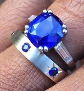 Acinom's Colorful Gemstones Collection (Blue Sapphire) - image by Acinom