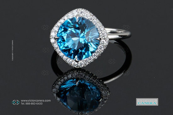 Acinom's Colorful Gemstones Collection (Blue Topaz) - image by Victor Canera