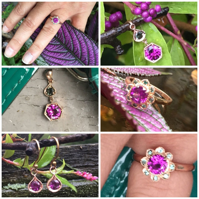 Sungura's Purple Garnet Collection - image by Sungura