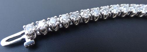 ZoeCadiz's Classy Eternity/Tennis Bracelet (Partial View) - image by ZoeCadiz