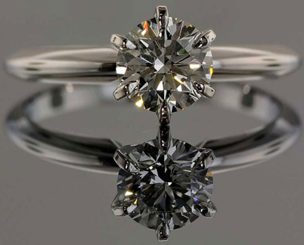bigongit's Timeless 1.08 Carat Diamond Engagement Ring (Front View) - image by High Performance Diamonds