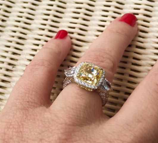 lhagedorn's Yellow Diamond Ering - image by lhagedorn