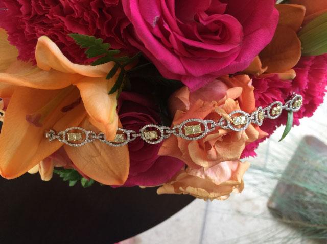 lhagedorn's Yellow Diamond Bracelet - image by lhagedorn