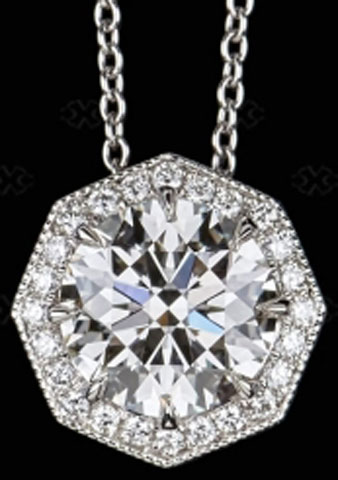 sparkle_zo's Gorgeous Octagonal Halo Pendant (Top View) - image by Victor Canera