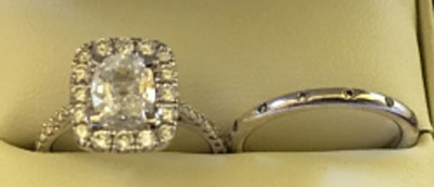 thorstedswife's Live A. Jaffe Setting:  Rated Top 10 Jewelry Brands in Bridal Design! (Top View) - image by thorstedswife