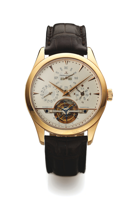 Jaeger-LeCoultre Master Grand Tradition Ref. 186.2.35.S Perpetual Calendar in pink gold, www.antiquorum.com