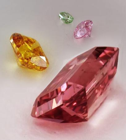 Natural Fancy Color Diamonds at James Allen