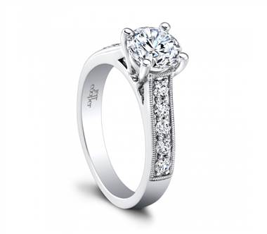 Jeff Cooper Engagement Ring RP-1603/RD7.0 at I.D. Jewelry