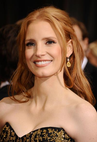 Jessica Chastain 2012 Academy Awards